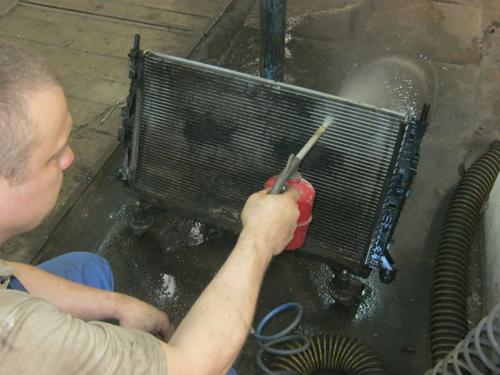 Мойка радиатора