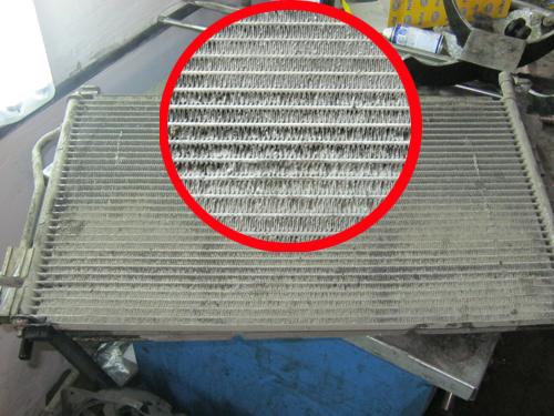 Очищенный радиатор