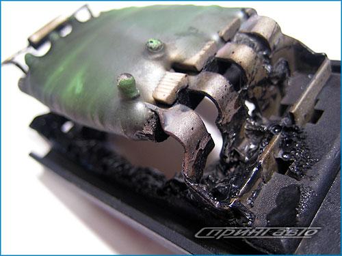 Короткое замыкание модуля резисторов