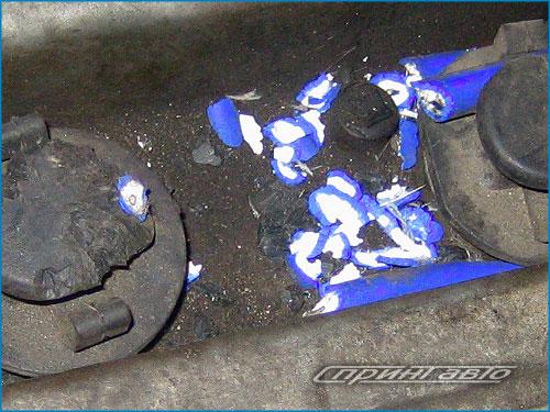 Крыса погрызла машину